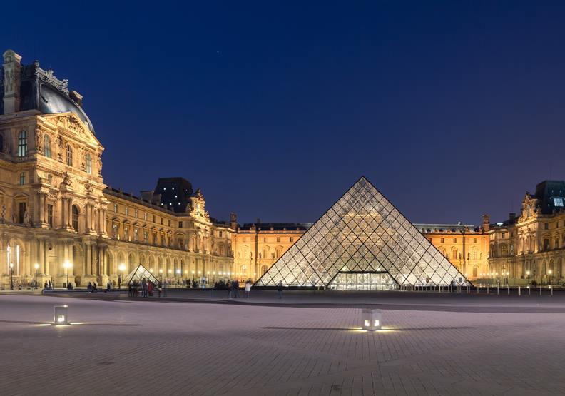 羅浮宮,圖片來自Wiki