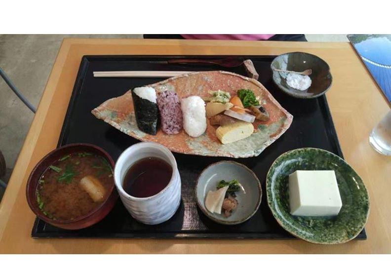 清水豆腐餐食,圖片作者提供
