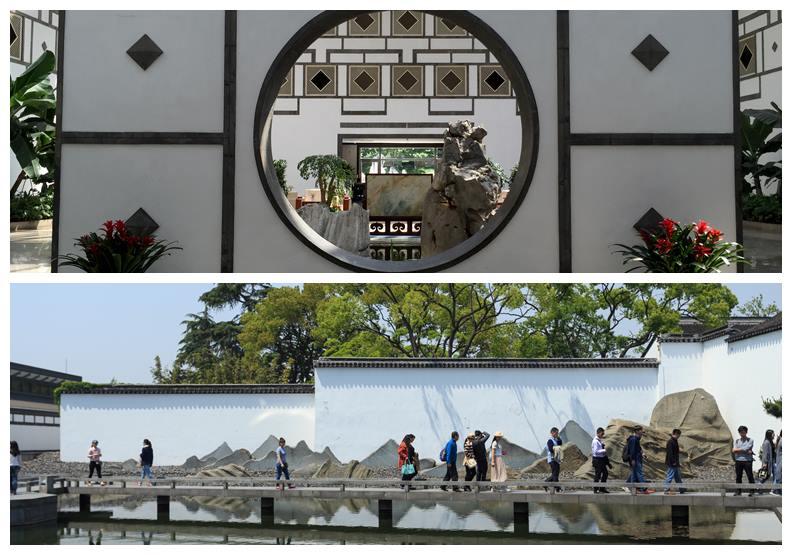香山飯店(上)與蘇州博物館(下),圖片來自Wiki