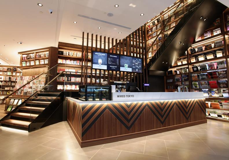 松山站引進Wired Tokyo日本人氣餐廳與蔦屋書店進駐,圖片潤泰國際提供。