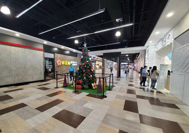 潮州站賣場內景,圖片大帝興業提供。