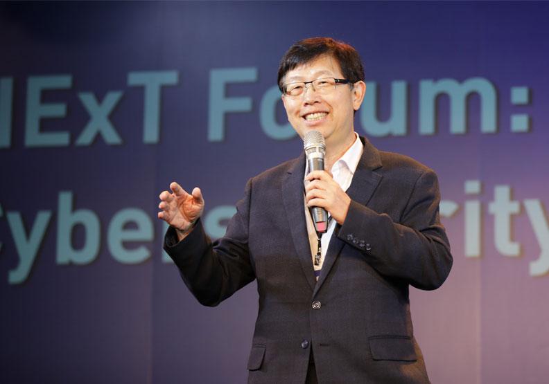 鴻海董事長劉揚偉。鴻海提供
