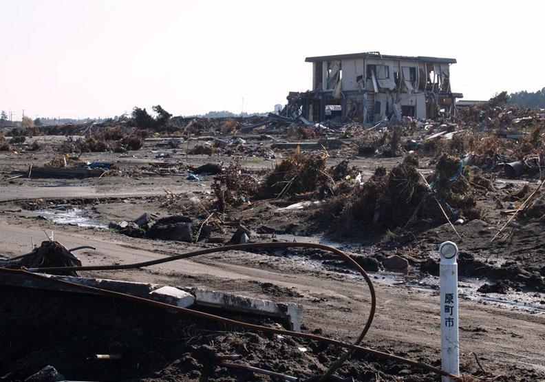 Flickr/Jun Teramoto。311海嘯過後的福島