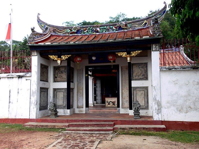 麻六甲三寶鄭和廟。圖片來自維基百科