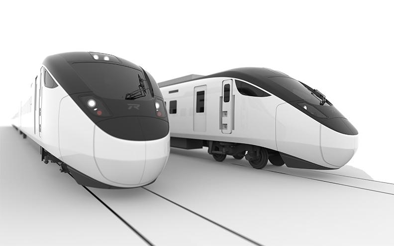 EMU 3000型城際電聯車。(日立製作所提供)