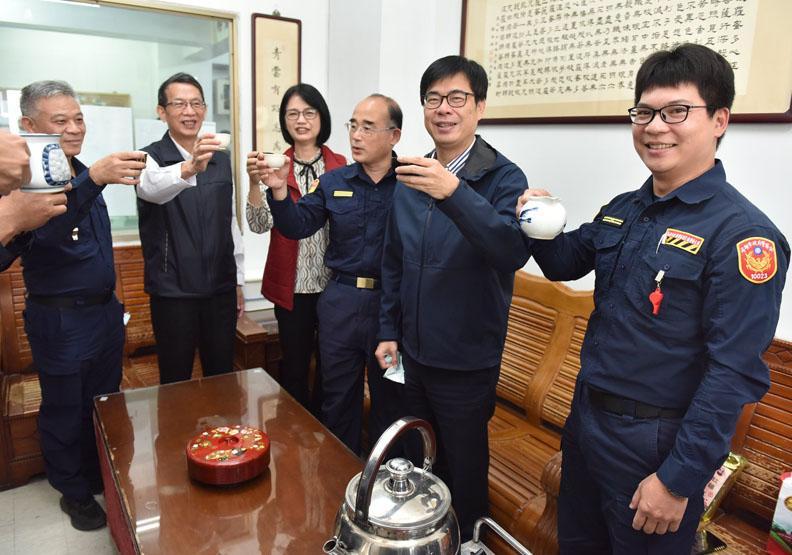 陳其邁 Chen Chi-Mai FB(示意圖)。