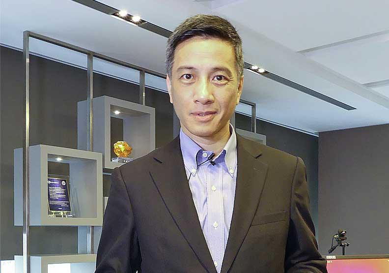 東元電機前常務董事黃育仁,是東元集團會長黃茂雄之子。圖片來自菱光科技