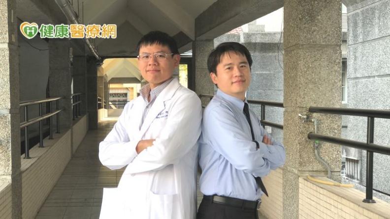 衛福部屏東醫院心臟內科李孟光主任(圖左1)、心臟內科朱俊源醫師(左2)。取自健康醫療網