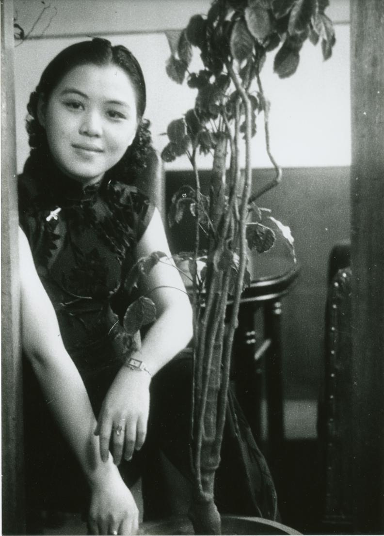 鄧南光,〈女性肖像〉。國家攝影文化中心提供