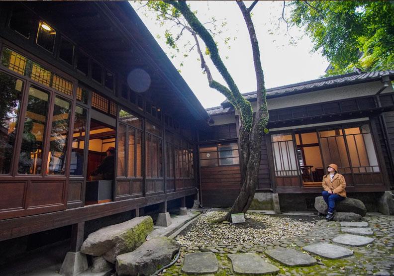 臺北琴道館前身為日式宿舍,為市定古蹟,台北市文化局提供。