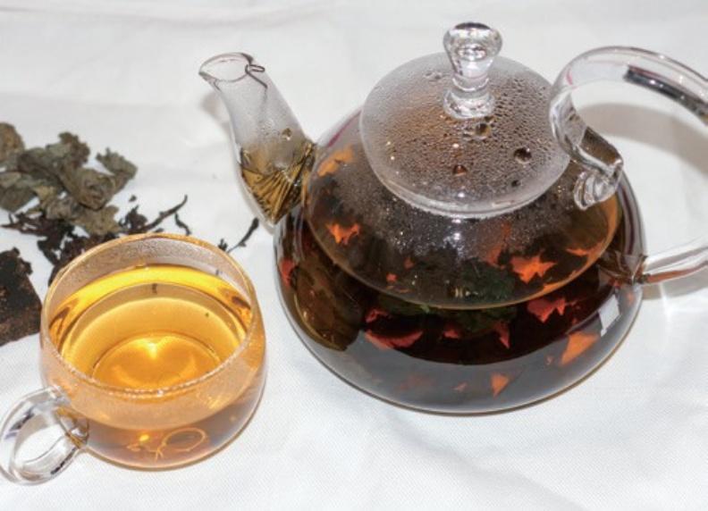 紫蘇烏龍茶。幸福文化提供