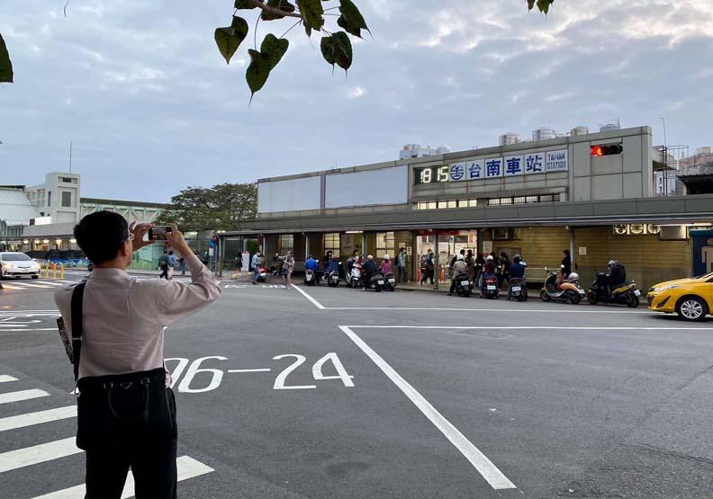取自臉書台南式。