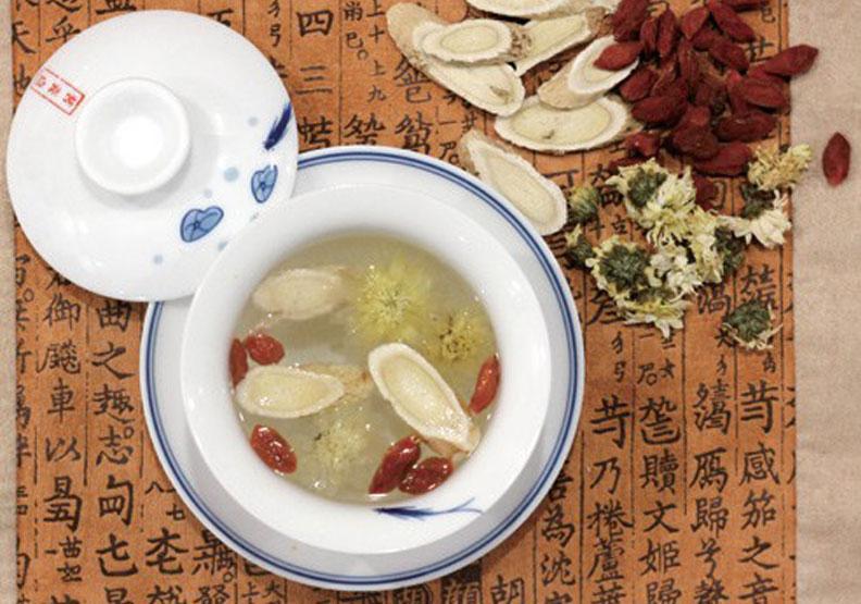 黃耆杞菊茶,幸福文化出版提供。