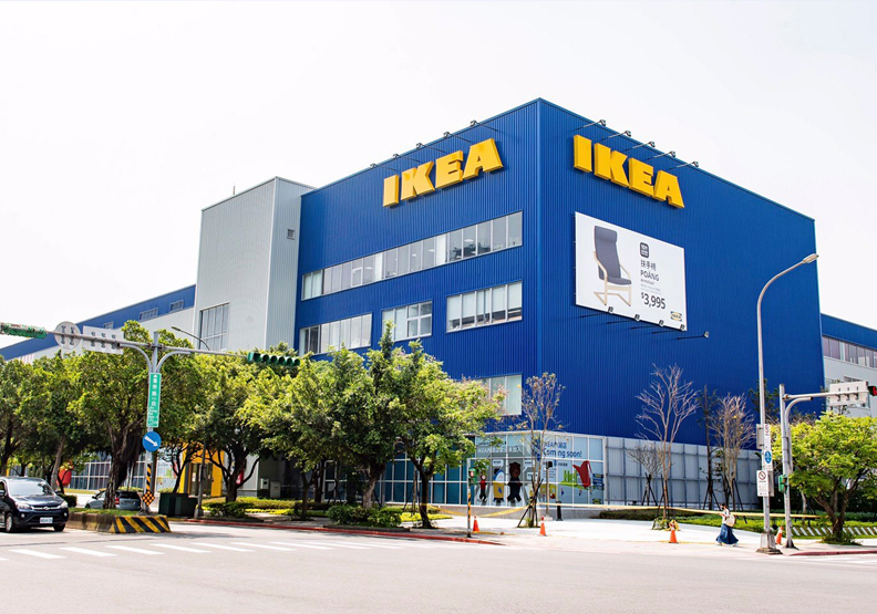 取自IKEA內湖店臉書。