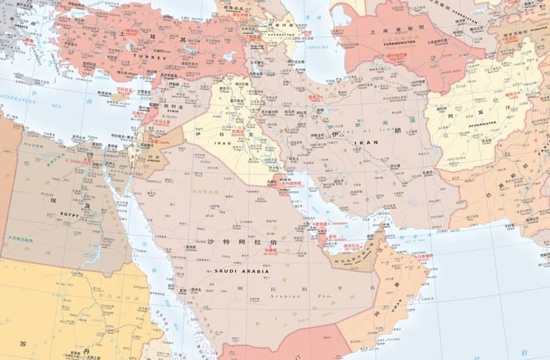 中東地區動盪,拜登首先收拾川普的殘局,重新部署。圖片來自Wiki