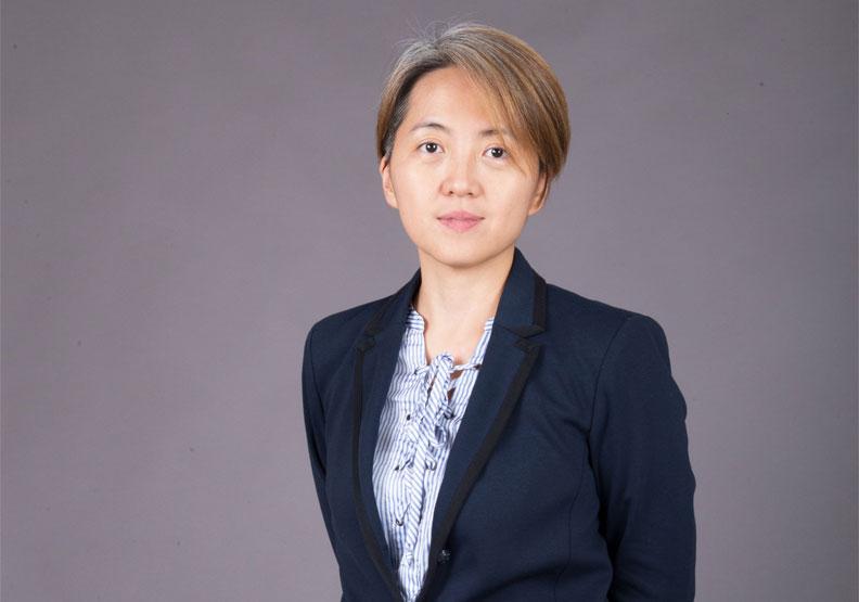 「麟數據科技」策略長謝佩芳。謝佩芳提供