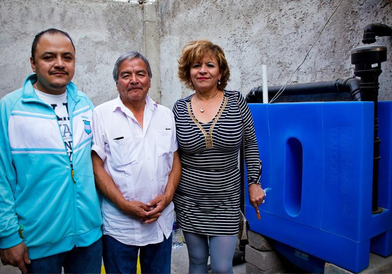 改善數萬居民缺水困境!墨西哥活用雨水搜集,供家庭整年用水