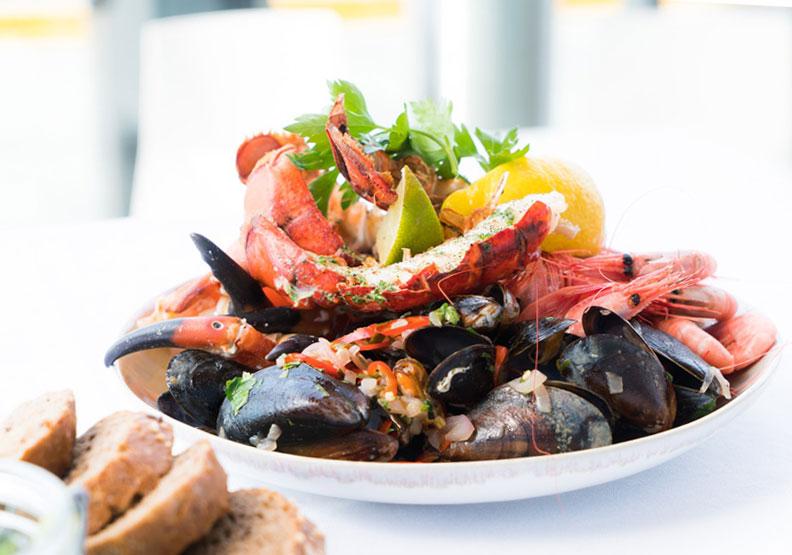 海鮮是獲取omega-3脂肪酸很好的食物來源。僅為情境配圖,取自Pexels Terje Sollie