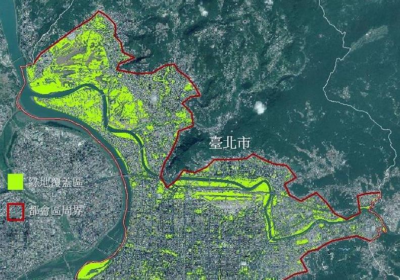 六都綠地覆蓋面積誰奪冠?福衛五號衛星影像精準解答!