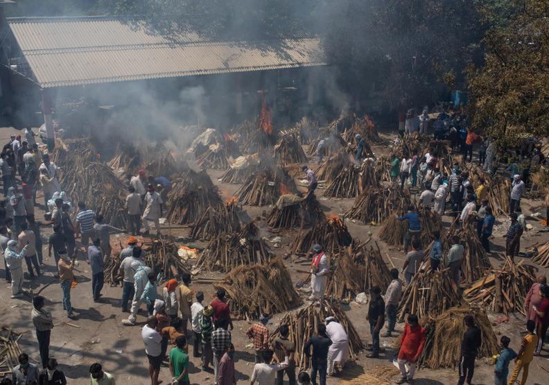 真正的人間煉獄……印度新冠疫情,是令人悲慟的心碎