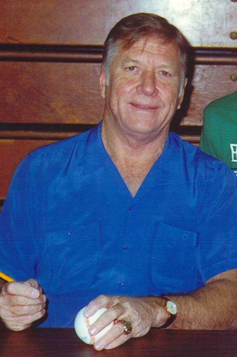 洋基球星米奇.曼托攝於1988年。圖片來自Wiki
