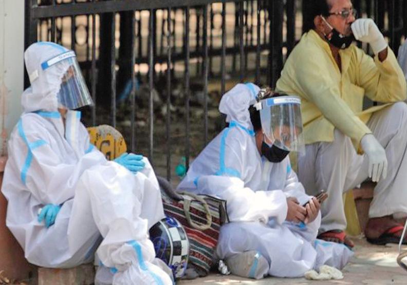 新冠肺炎疫情在印度持續延燒,Flickr by Ninian Reid。