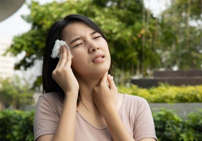 不只中暑!小心高溫可能讓心血管、呼吸道疾病惡化
