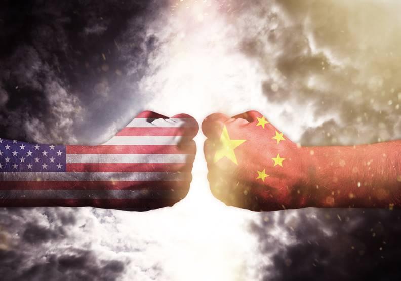 台灣站在美中衝突的風口上,應該關心的是如何才能預防戰爭爆發。圖片來自shutterstock