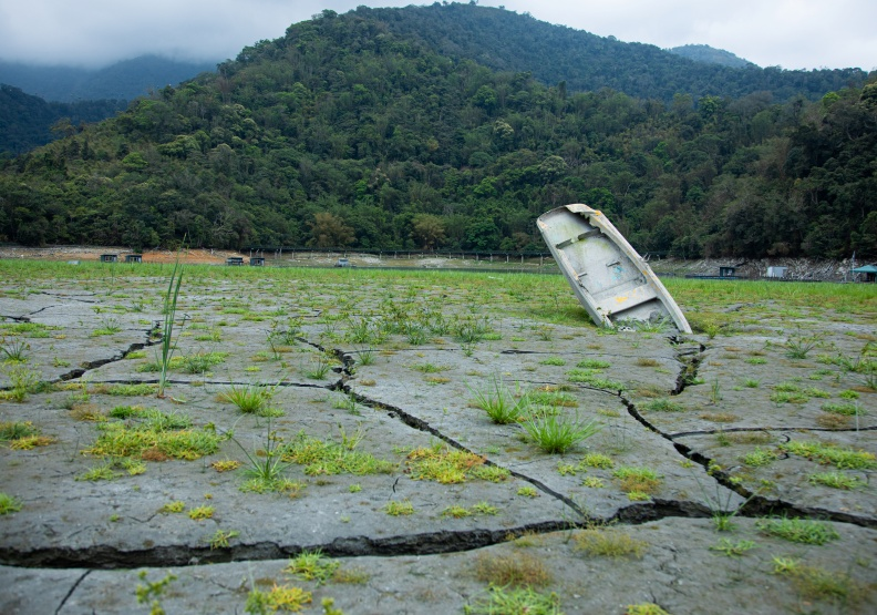 今年水情嚴峻,乾旱也嚴重影響到慣常水力發電的貢獻度。池孟諭攝