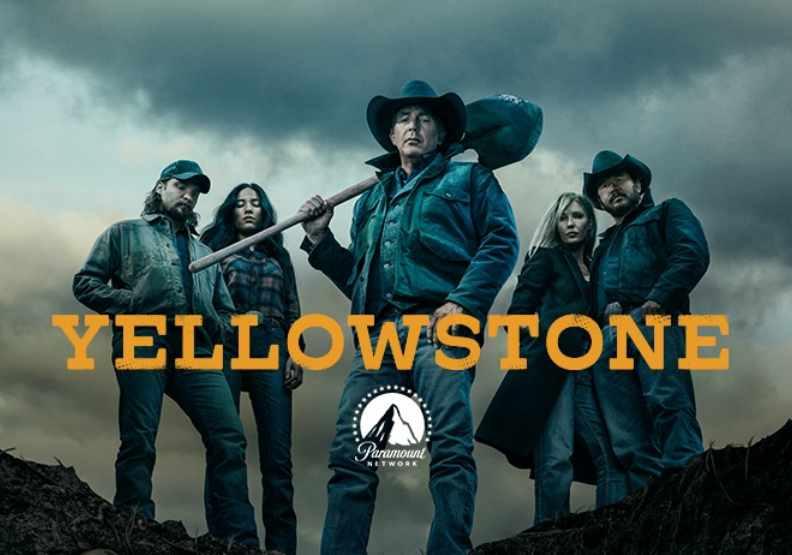 Yellowstone劇照,圖片來自臉書@yellowstoneparamount