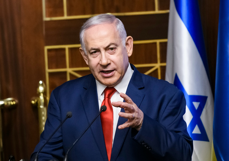 以色列總理班傑明納坦雅胡