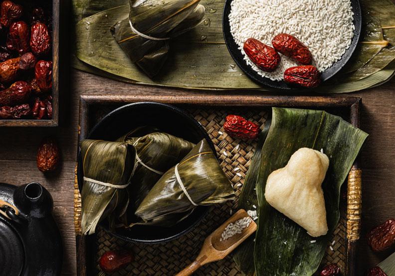 吃粽不重有訣竅!營養師一張圖,揭曉11款甜、鹹粽子熱量排行榜