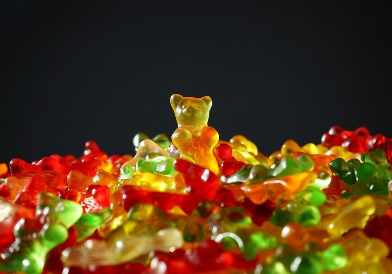 全球非常熱銷的小熊軟糖。pexels