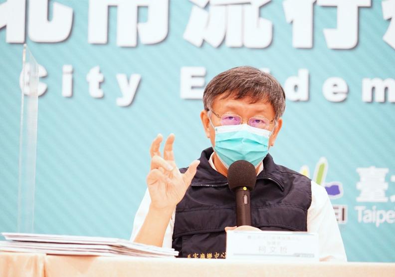 不只好心肝!六診所獲逾2000份疫苗,柯文哲:管控要檢討