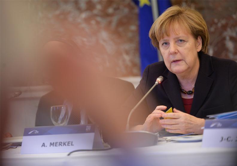 梅克爾帶領德國16年國力不墜,可以說是功績彪炳。圖片來自Flickr by European People