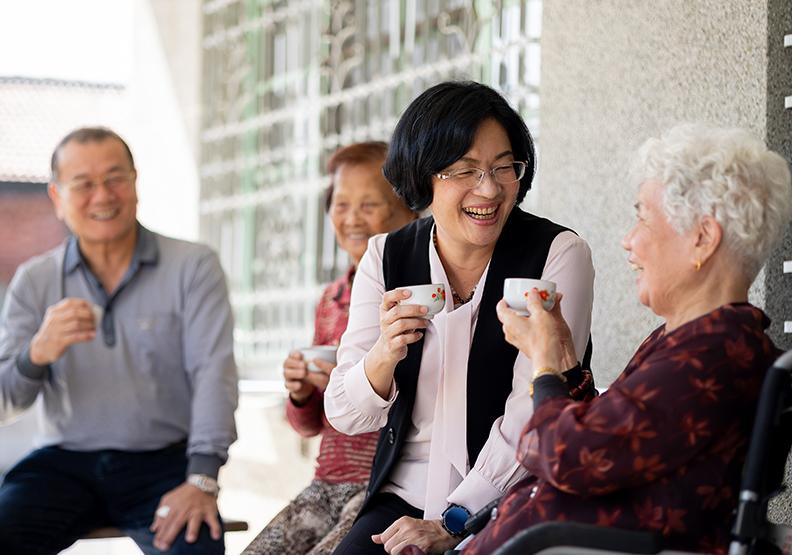 彰化好幸福!為高年級生打造友善宜居的熟齡健康樂活城