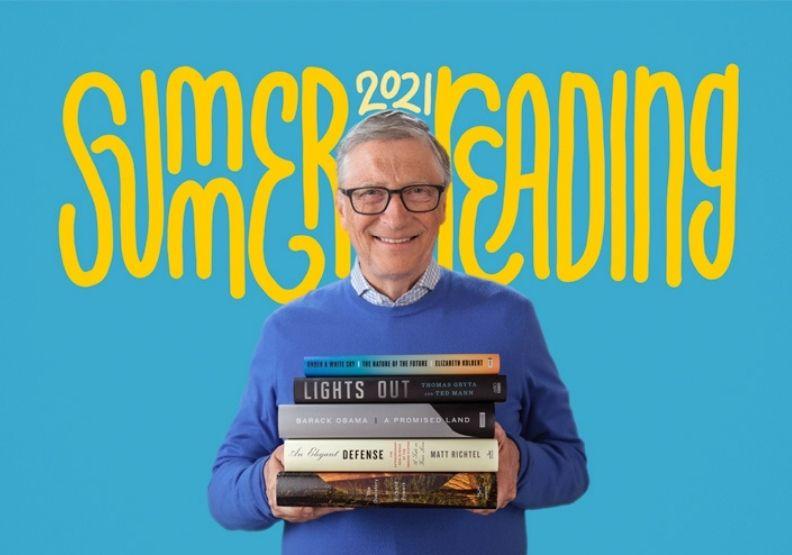 比爾蓋茲離婚也要讀書!哪五本書進了他的「夏季書單」?
