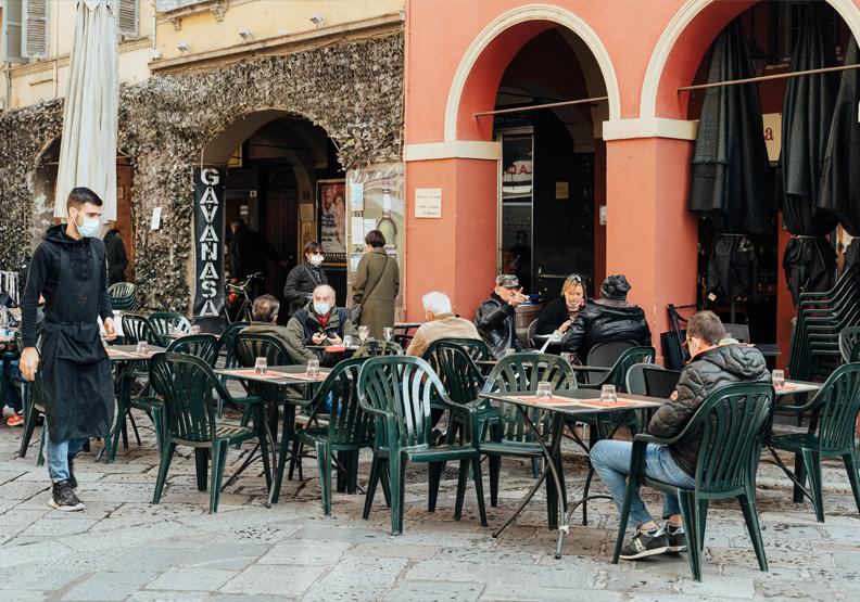 走過封城六個月的盧森堡,如何開放餐廳同時兼顧防疫?