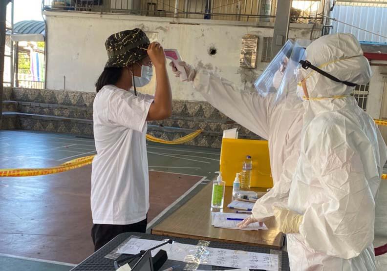 地方衛生所成了守護當地居民的關鍵,台東縣金峰鄉衛生所提供。