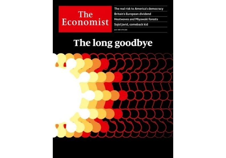 最新一期的經濟學人封面。經濟學人官網。