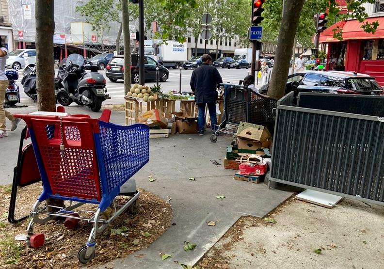 巴黎市容崩壞網PO垃圾照狂罵!政府推8大措施整頓