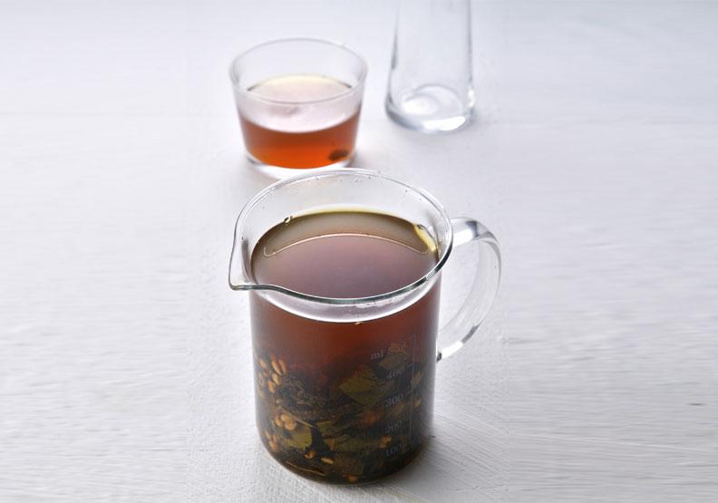 輕身去濕茶。幸福文化出版提供