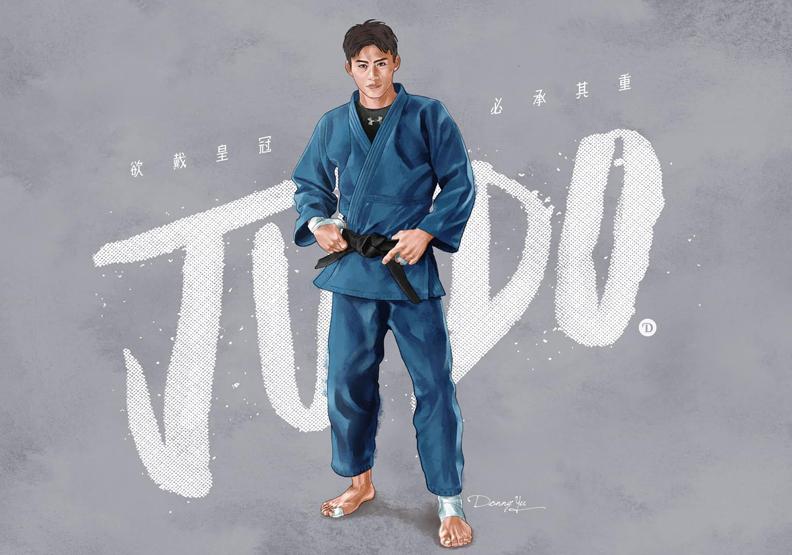 東奧一戰成名!來自台中的排灣勇士楊勇緯,會練柔道全因為他