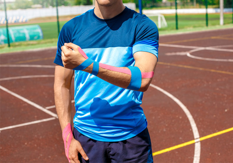 奧運選手身上的繽紛貼布是什麼?「肌內效貼布」這樣貼才有效!