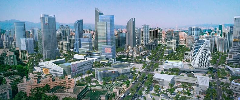 新北市在都更及大型開發區如塭仔圳市地重劃等建設納入零碳設計思維,一步步邁向淨零碳。