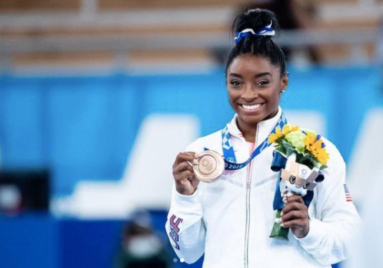 美國體操天后Simone Biles戰勝心理問題,榮耀回歸東京奧運參賽,並摘下銅牌。圖片來自IG @simonebiles