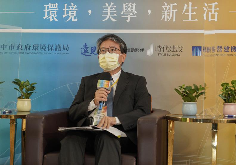 台中市環保局局長陳宏益。