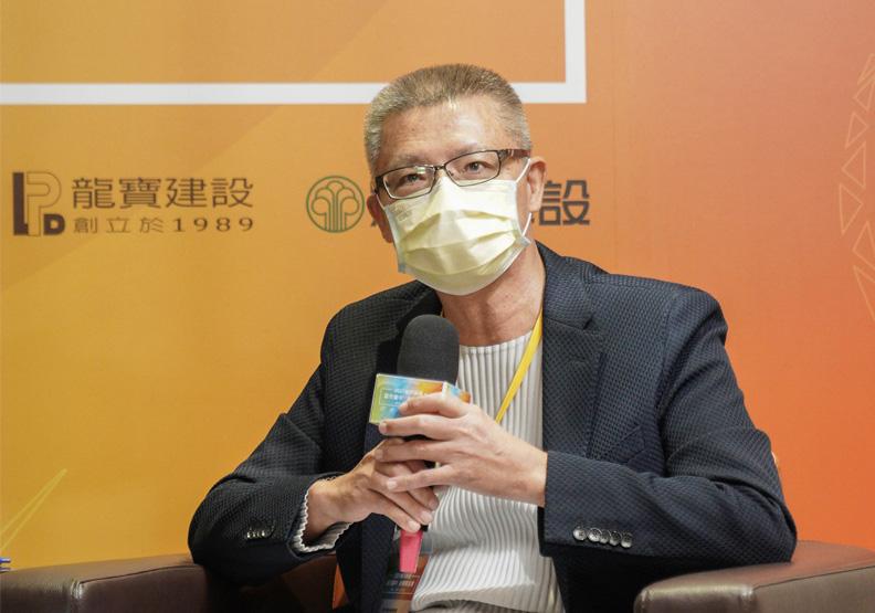 惠宇建設總經理顏定滄。