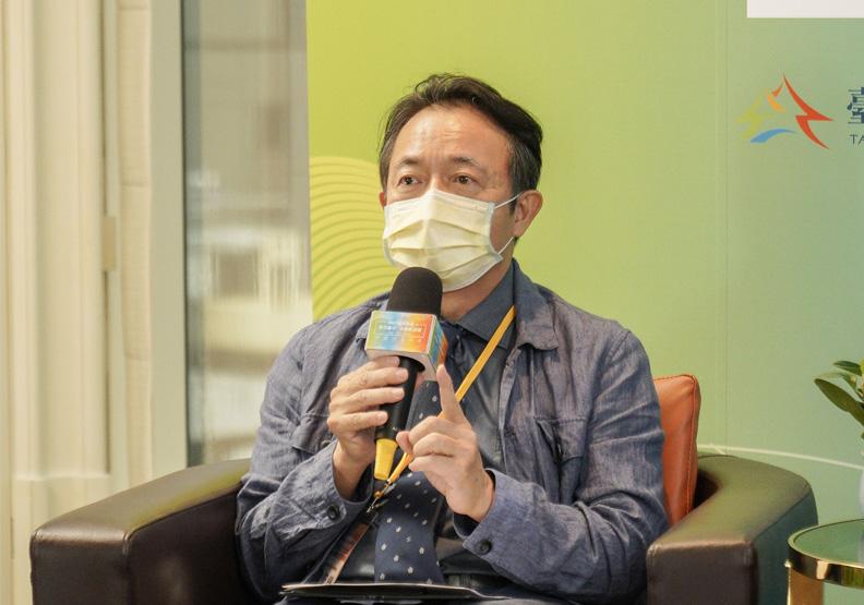 朝陽科技大學設計學院院長歐聖榮。
