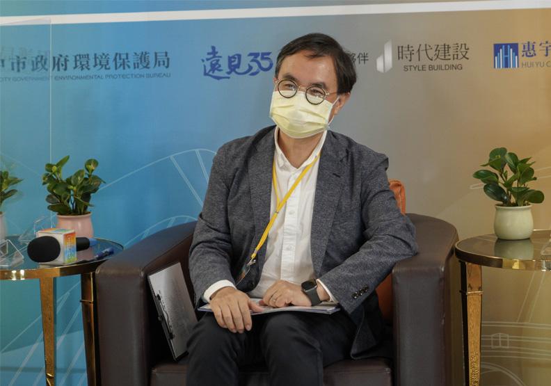台中市都發局局長黃文彬。
